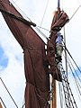 SB Ironsides stowing the topsail 7129.JPG
