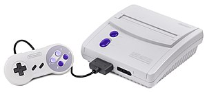 Super Nintendo Entertainment System - New-Style Super NES