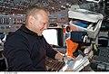STS-127 Hurley reads checklist.jpg