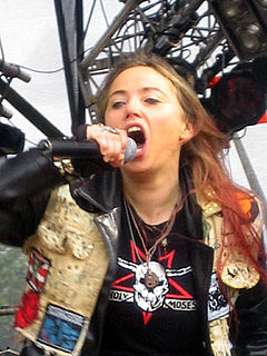 Sabina Classen German thrash metal singer