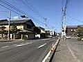 Saga Prefectural Road No.23 in front of Nishi-Karatsu Station 3.jpg
