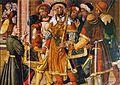 Saint Eloi remet deux selles à Clotaire II.jpg