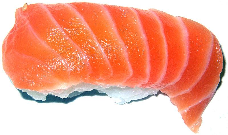 File:Salmon Sushi.jpg
