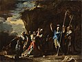 Salvator Rosa - Scene from Greek history- The deaf-mute son of King Croesus prevents the Persians from killing his f... - Google Art Project.jpg