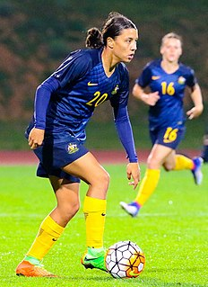 Sam Kerr Australian womens soccer player