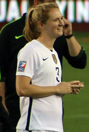 Sam Mewis - Mewis with the United States women's national soccer team in 2016