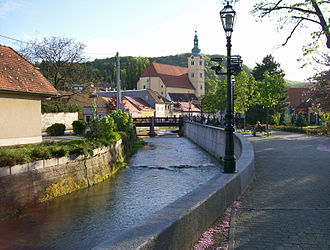 Samobor - View of Gradna River