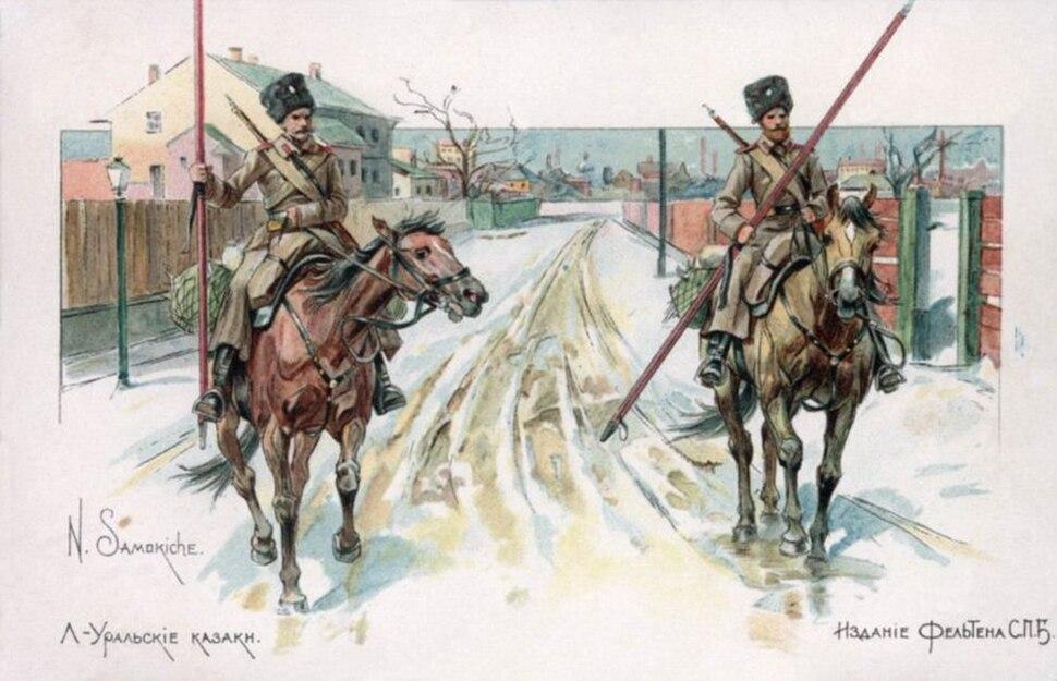 Samokish Felten - Ural Cossaks