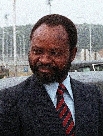 Samora Machel - Image: Samora Moises Machel detail DF SC 88 01383