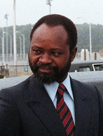 President of Mozambique Samora Moises Machel s...
