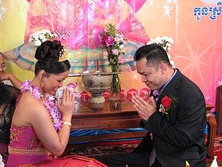Sampeah Cambodian greeting