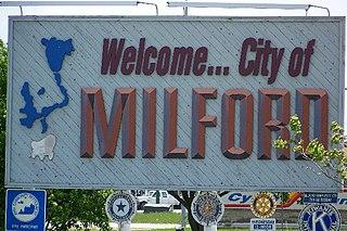 Milford, Iowa City in Iowa, United States
