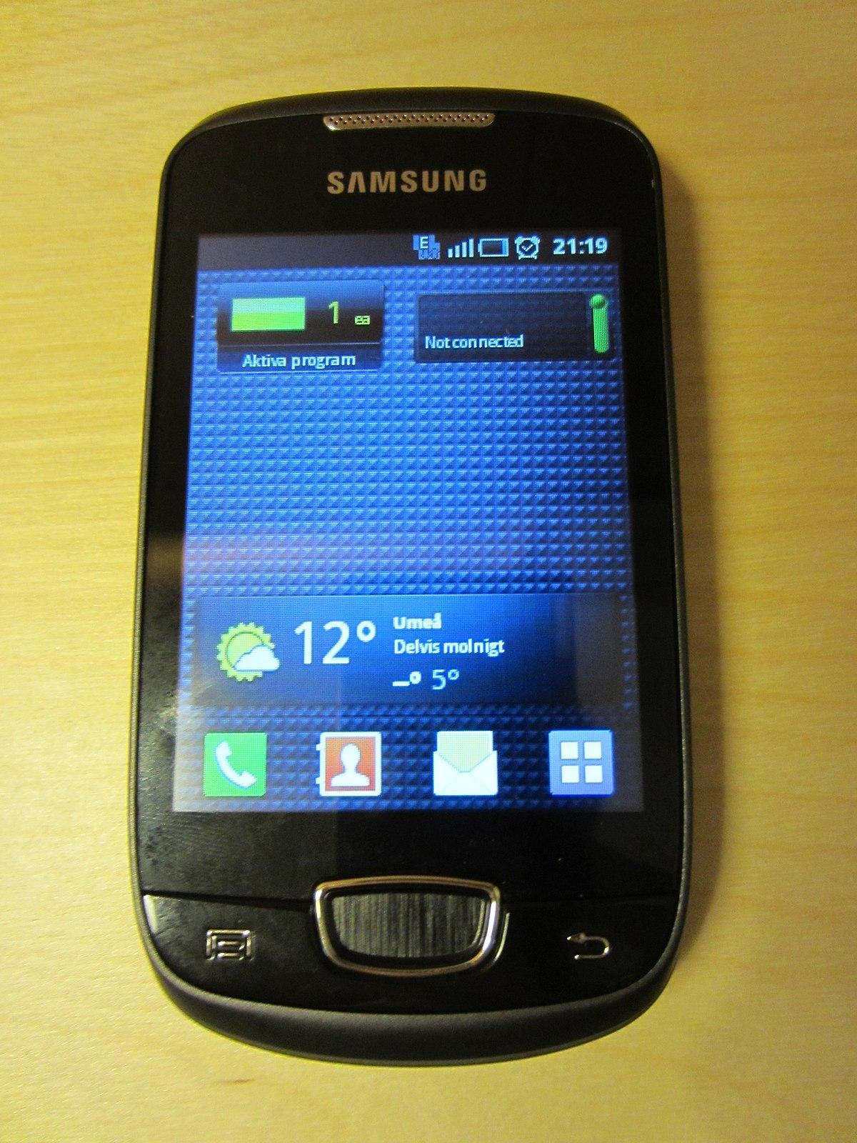 logiciel samsung galaxy mini s5570