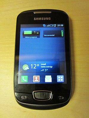 English: Samsung Galaxy Mini (S5570) Svenska: ...