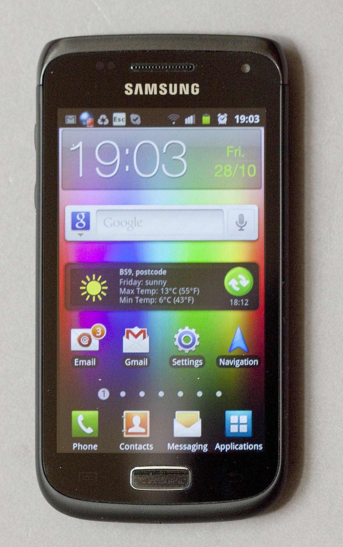 Samsung Galaxy W - Wikipedia