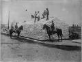 San Francisco Earthquake of 1906, Restacking 9,000 pounds (of) flour, - NARA - 522940.tif