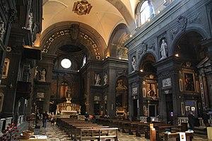 San Gaetano, Florence - Interior view.