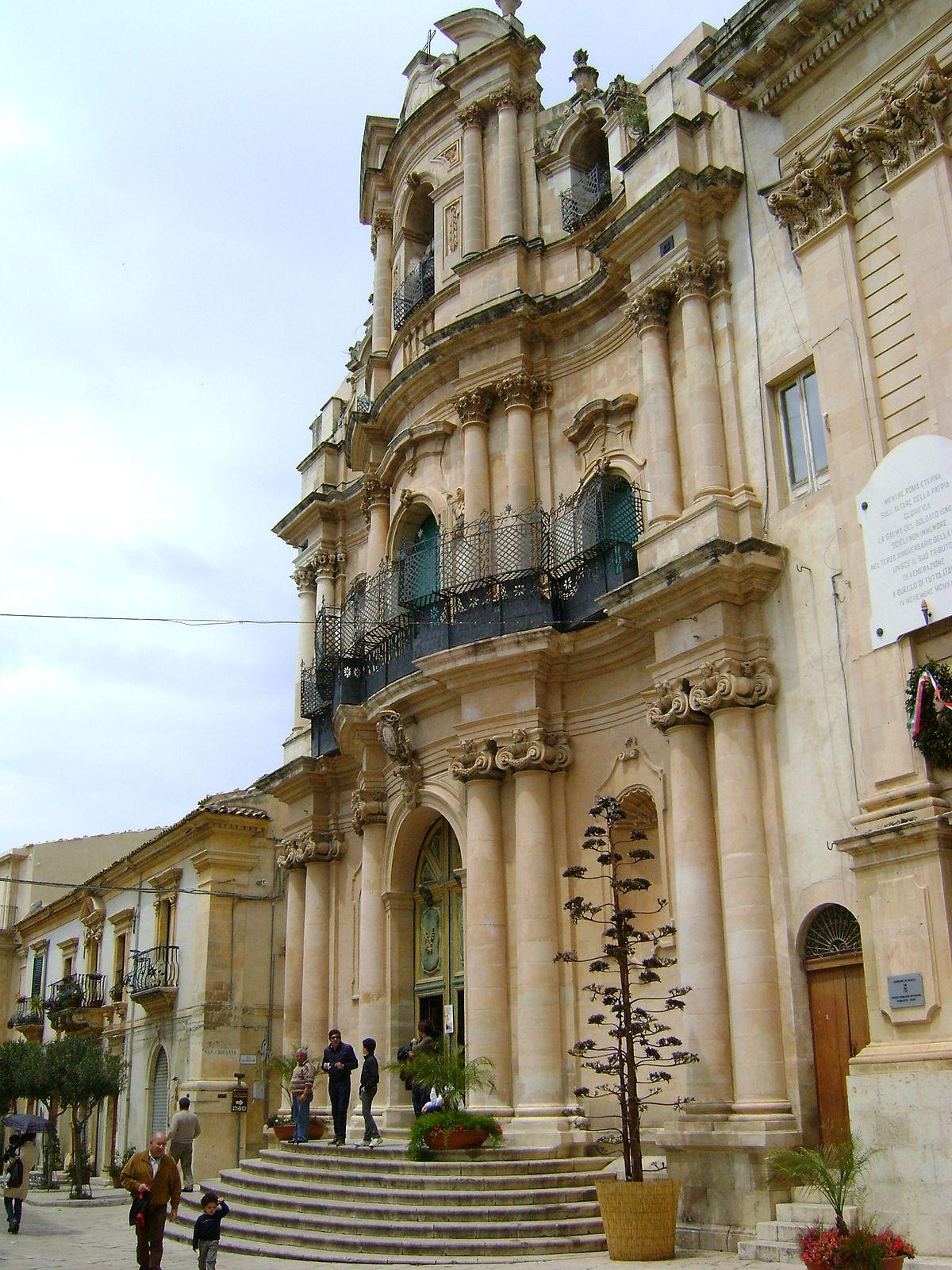 Chiesa di san giovanni evangelista scicli wikipedia for Noto architetto torinese