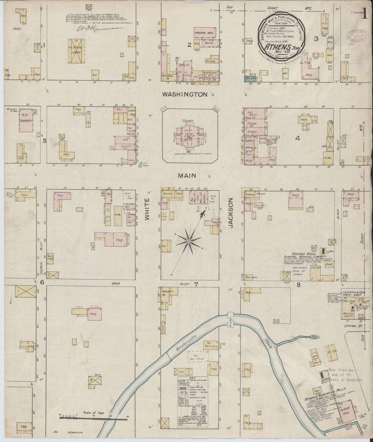 File:Sanborn Fire Insurance Map from Athens, McMinn County ...