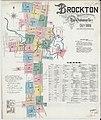 Sanborn Fire Insurance Map from Brockton, Plymouth County, Massachusetts. LOC sanborn03698 002-1.jpg