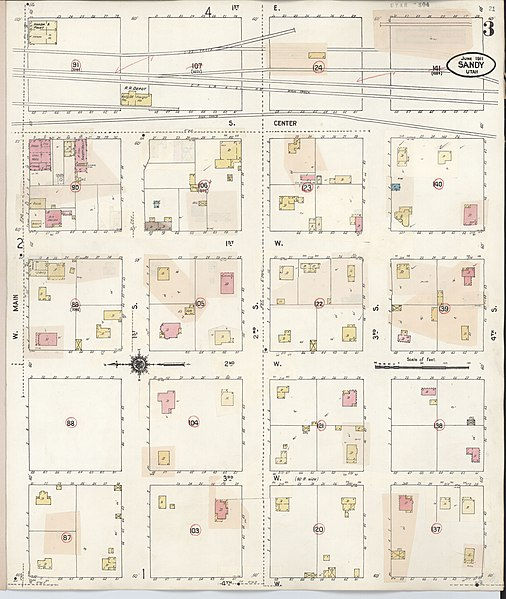 File:Sanborn Fire Insurance Map From Sandy, Salt Lake