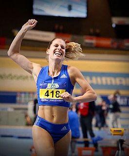 Sanne Verstegen Dutch middle-distance runner