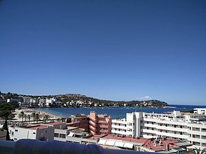 Santa Ponsa - Balcony view from Deya Hotel