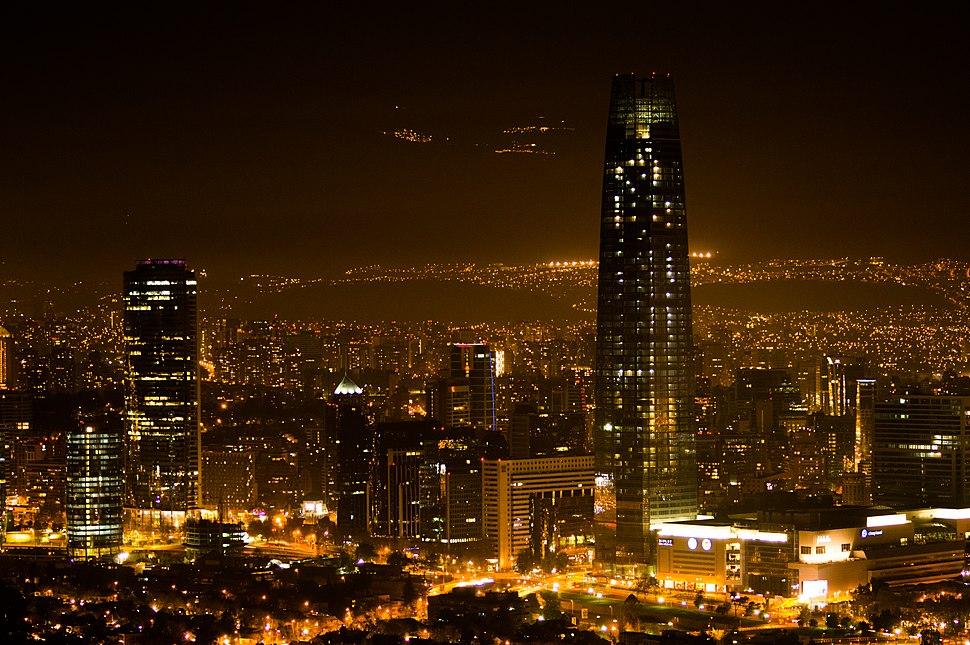 Santiago nocturno 2013