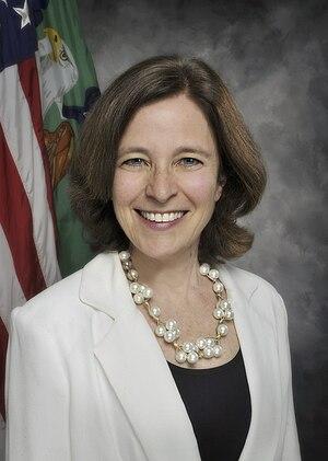 Sarah Bloom Raskin - Image: Sarah Bloom Raskin official portrait