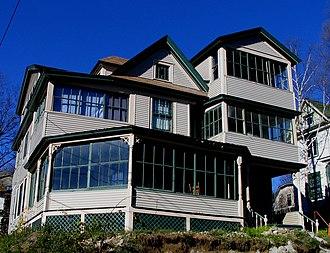 "Saranac Lake, New York - A tuberculosis ""Cure Cottage"""