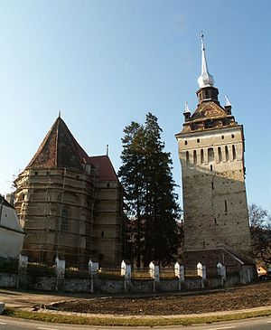 Saschiz fortified church
