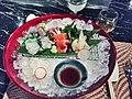 Sashimi from Tsukiji- hirame, sanma, aji, salmon.jpg