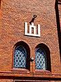 Sasnavos bažnyčia, Gedimino stulpai.JPG