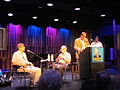 Satchmo Summerfest 2012 Seminar David Ostwald Dan Morgenstern Jon Pult Ricky Ricardi.JPG