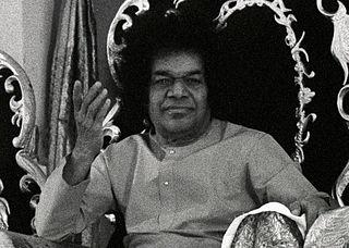 Sathya Sai Baba Indian guru