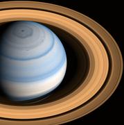 Saturn - nIR False Color - September 9 2014.png