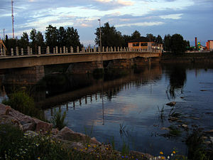 Ylivieska - The second oldest concrete bridge in Finland, built in 1912 and named humorously as Savisilta (clay bridge) is located in Ylivieska.