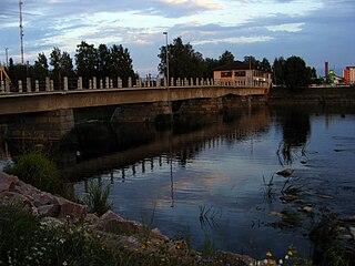 Ylivieska Town in Northern Ostrobothnia, Finland