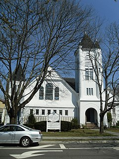 Sayville Congregational Church United States historic place