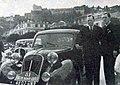 Scaron (G.) et Gordini (D.) vainqueurs de catégorie 1.l. au rallye Monte-Carlo 1939, sur Simca 8.jpg