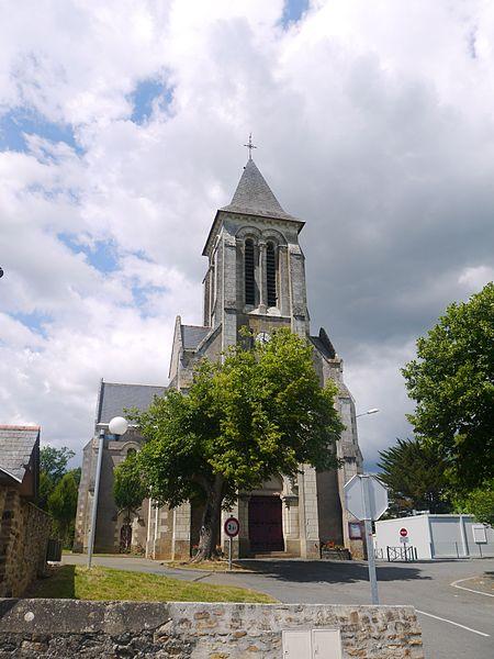 L'église Saint-Martin-de-Vertou.