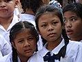 Schoolkids at Wat Phra Kaew - Bangkok - Thailand - 02 (11730835865).jpg
