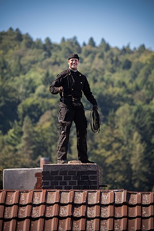 Chimney sweep - Chimney sweeper