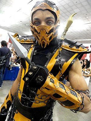 Scorpion (Mortal Kombat) - Image: Scorpion Fanime Con 2012