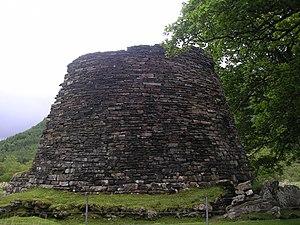 Scotland during the Roman Empire - Dun Telve broch in Glenelg