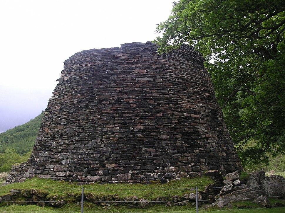 Scotland Glenelg broch