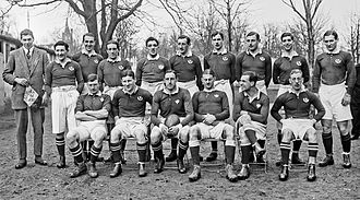 Cecil Abercrombie - Scotland XV v France, 1 January 1913, Parc des Princes