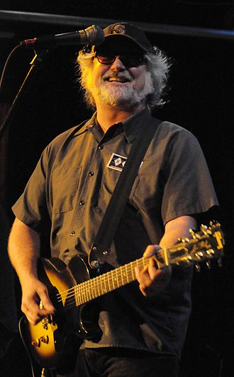 New Adventures in Hi-Fi - New Adventures in Hi-Fi represented the beginning of R.E.M.'s long-time association with Seattle-based multi-instrumentalist Scott McCaughey (pictured here in 2011)