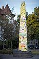 Sculpture Hainholz-Stele Siegfried Neuenhausen Fenskestrasse Hanover Germany 01.jpg