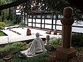 Sculpture of Zen masterTaisen Deshimaru in the temple Kosan Ryumonji.jpg
